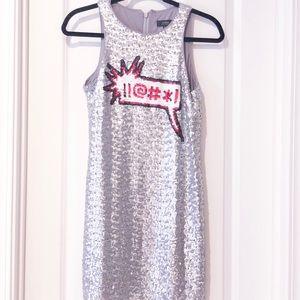 Aidan by Aidan Mattox Sequin Dress